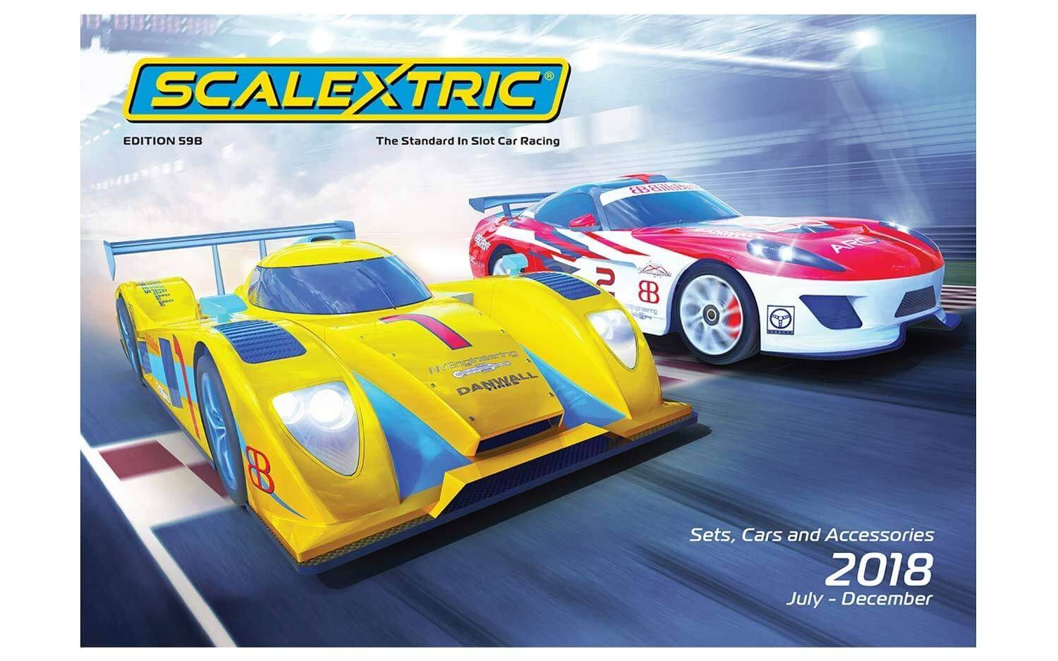 C8183 Scalextric 2018 Product Catalog July-December, Edition 59B