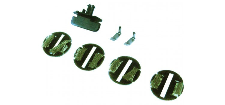 Scalextric C8312 Guides for START cars, 4 Braid Plates