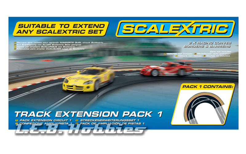 C8510 Scalextric Track Extension Pack 1 - Racing Curve