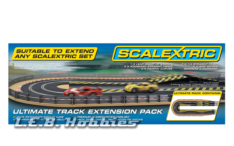 C8514 Scalextric Ultimate Track Extension Pack -Extended Hairpin