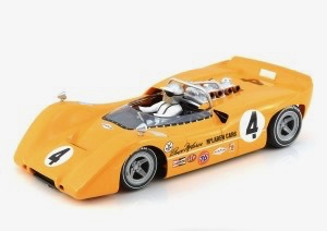 CA00301S/W Thunder Slot Mclaren M6A Can Am Bruce McLaren No.4
