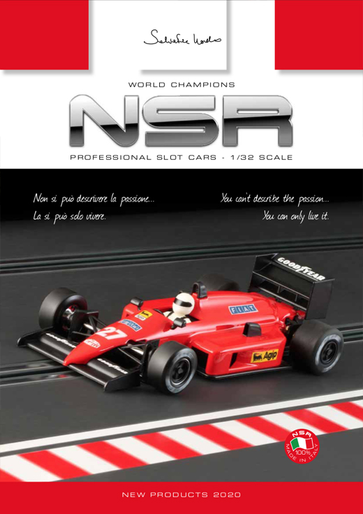 NSRCATALOG2020 NSR 2020 Catalog - Full Color 36 Page Glossy