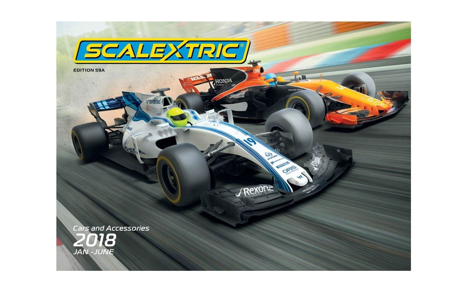 C8182 Scalextric 2018 Product Catalog January-June, Edition 59A