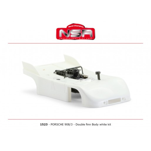 NSR1523 NSR Porsche 908/3 Double Finn Body Kit, White