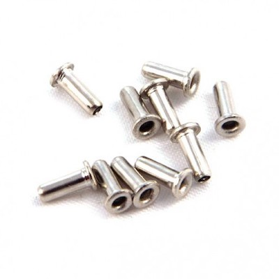 NSR 4821 Brass Lead Wire Eyelets for Thin NSR Braid, 10/pk