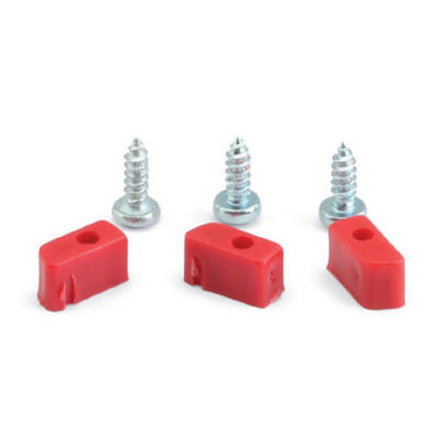 NSR 1231 Plastic Cups & Screws for Triangular Motor Support