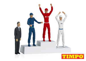 21121 Carrera Winner's Rostrum with Set of Figures