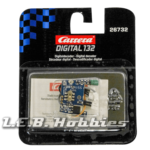 26732 Carrera Digital Decoder for cars from 2008 except F1