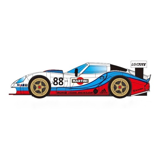 RevoSlot RS0071 Marcos LM600 GT2, No.88, Martini White