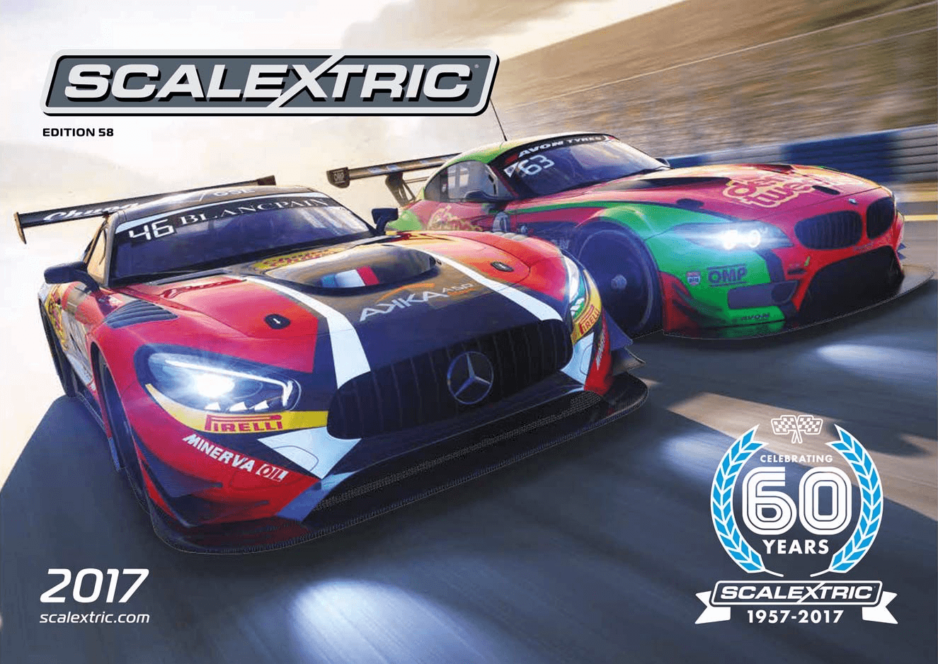 C8181 Scalextric 2017 Product Catalog, Edition 58