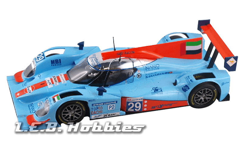 "SICA39B Slot.it Lola B12/80 ""Gulf"" No.29, 24H Le Mans 2012"