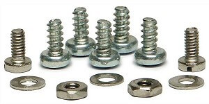 SICH08 Slot.it HRS Screw Set for chassis kit, 2 short and 5 long