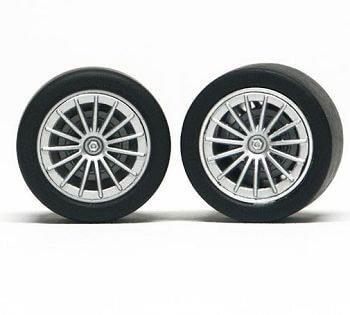 SIPA36 Slot.it Wheels Inserts McLaren F1/Audi R8C, 4/pk