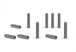 SIPA54 Slot.it Hexagonal Screws M2 x10mm front axle setup, 10/pk