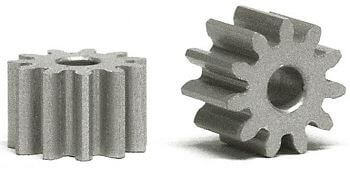 SIPI7012E Slot.it Pinion, 12T, Sidewinder, 7mm/2mm, Ergal, 1/pk