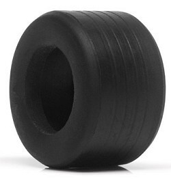 SIPT13 Slot.it P3 Rubber F1 Grooved Tires 12.4 x 20.8mm, 4/pk