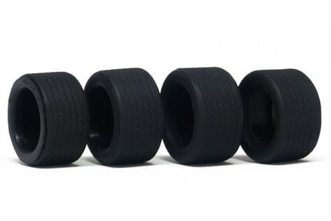 SIPT32 Slot.it C1 Chaparral 2E Kit Rubber Tires, 4/pk