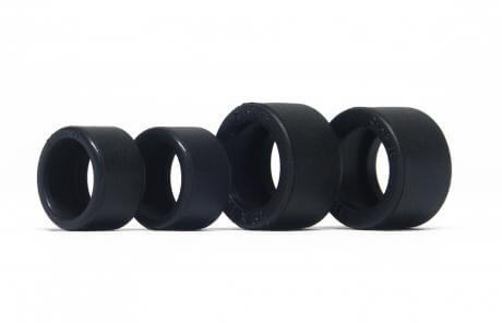 Slot.it SIPT9670E1 E1 & Z1 Rubber Slick Tires GT kit for Ninco