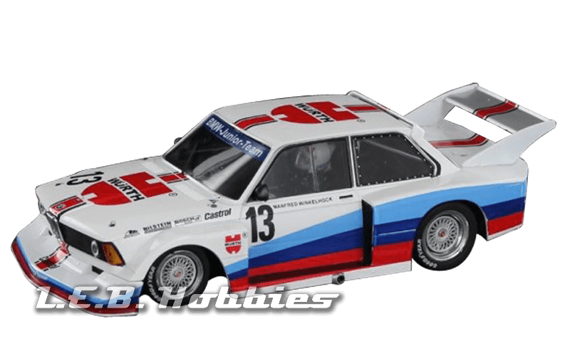 SW58A Racer Sideways BMW 320 Gr.5 BMW Jr. Team DRM 1977, No.13