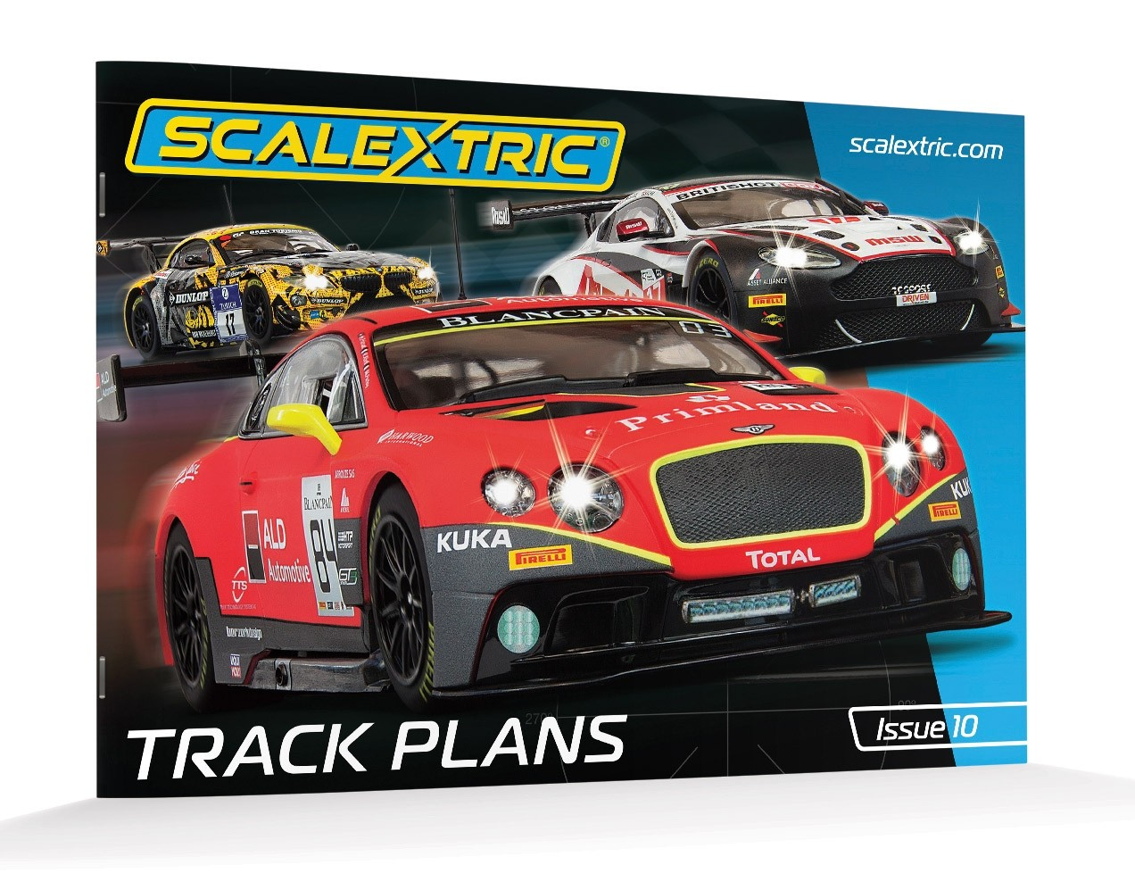 Scalextric C8334 Track Plans, Edition 10